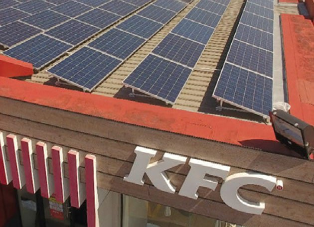 Kfc Pilots Solar Energy Solutions In Its Port Elizabeth
