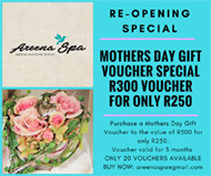 Areena Spa Mothers Day Voucher Special copy copy