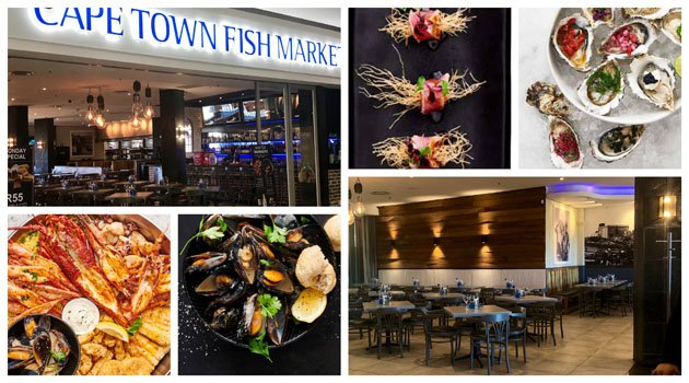 Cape Town Fish Market Collage