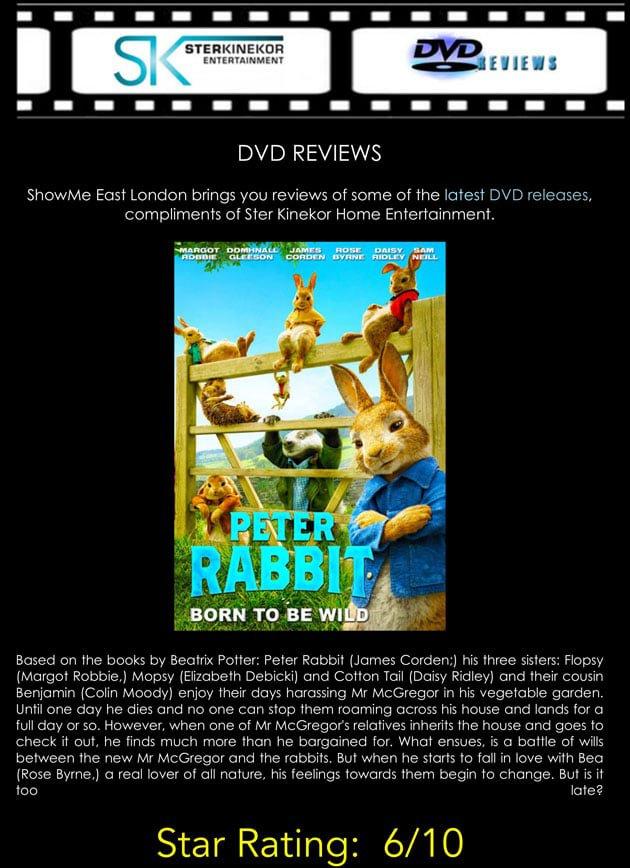 Peter Rabbit DVD Review