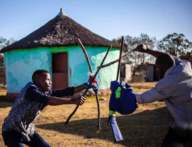 Stick fighting (Indegenous game)