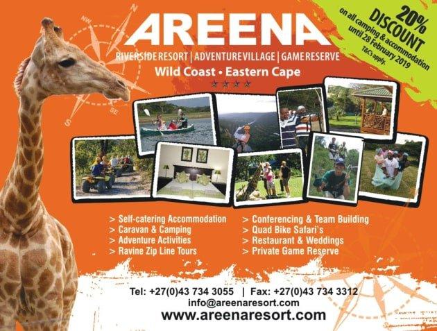 Areena Riverside Resort Feb 2019 Special Offers