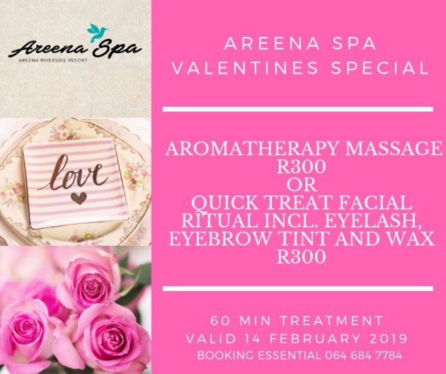 Areena Spa Special Valentines 2019
