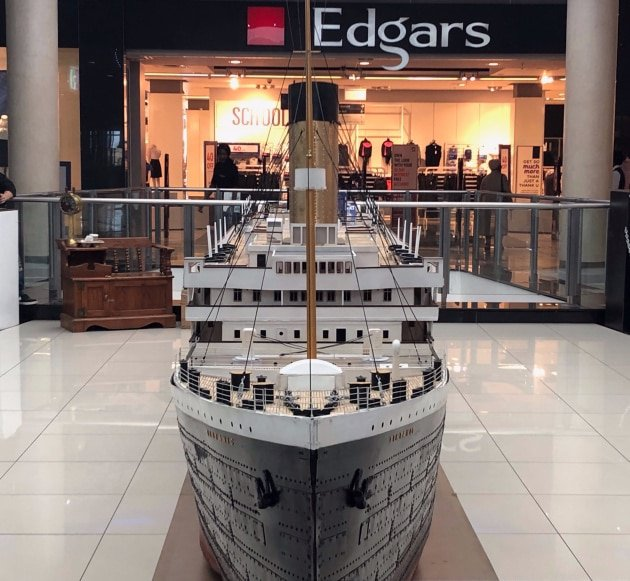Tintanic Steams her way into Hemingways Mall