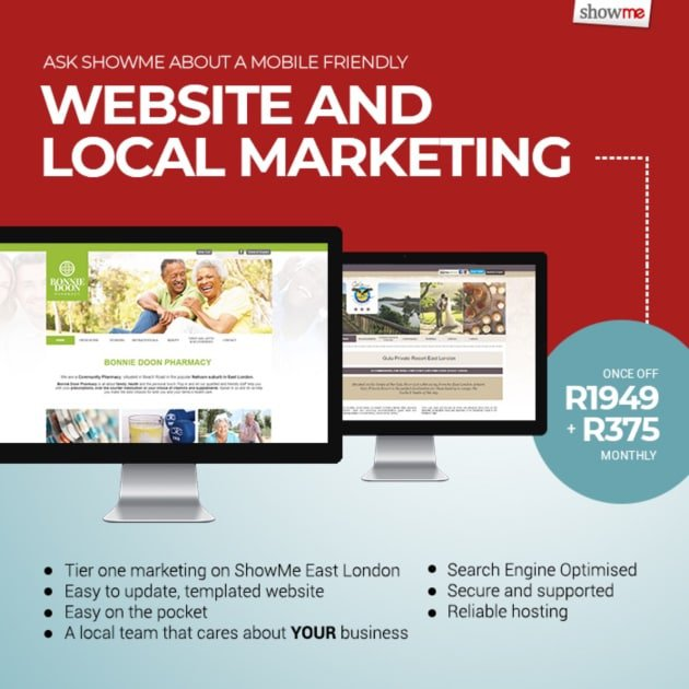 Affordable websites from ShowMe East London