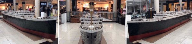 The Tintanic on show at Hemingways Mall