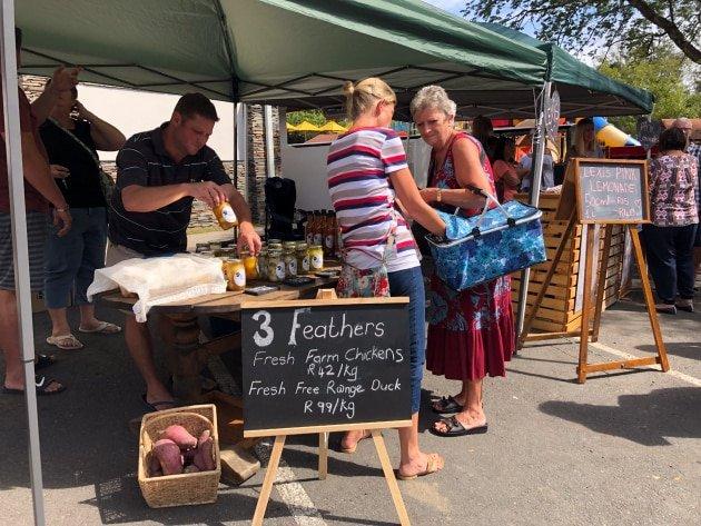3 Feathers Fresh Farm Chickens @ Pinecreek Weekly Farmers Market
