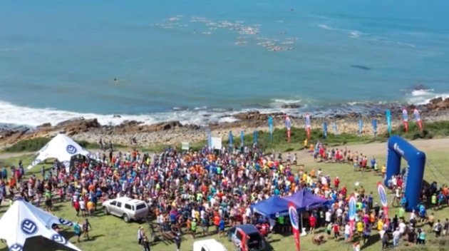 Start of the 2019 Surfers Marathon