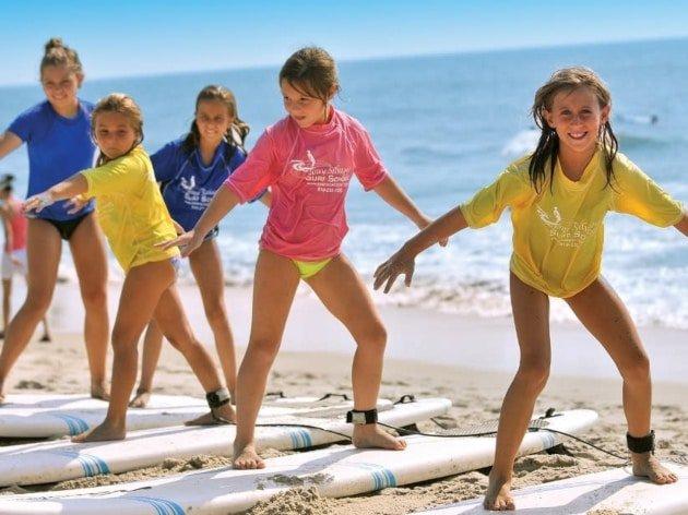 Creating beach activities