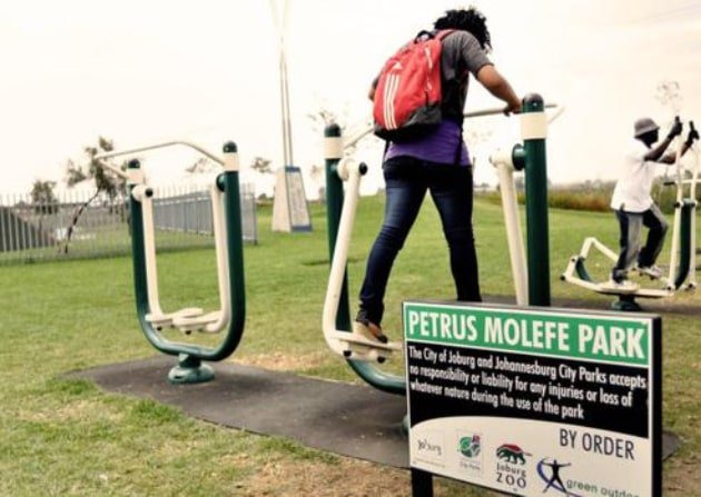 Outdoor Gyms in Public Parks