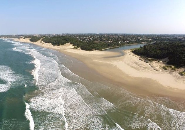 Bonza Bay Beach - Photograph by Andre Oosthuizen
