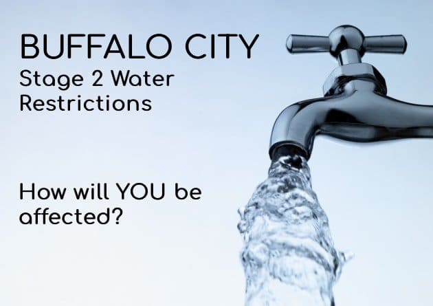 Buffalo City Stage 2 Water Restrictions