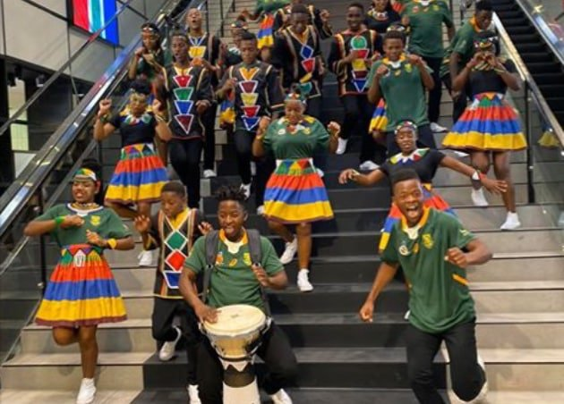 The Ndlovu Youth Choir - Surprise for the Springboks