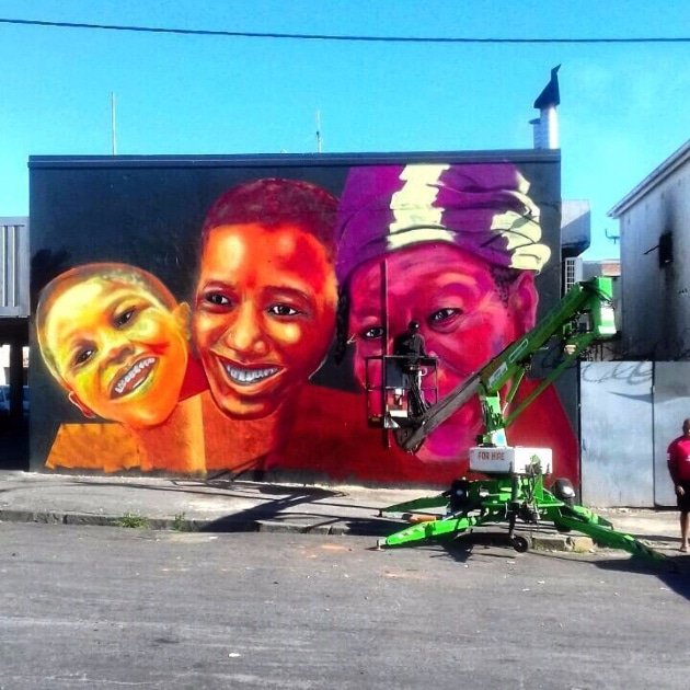 Faces Mural (Ryan Petty)