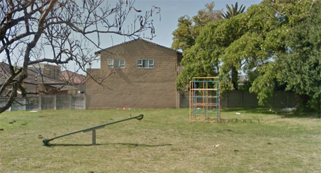 Vincent Road Park Before