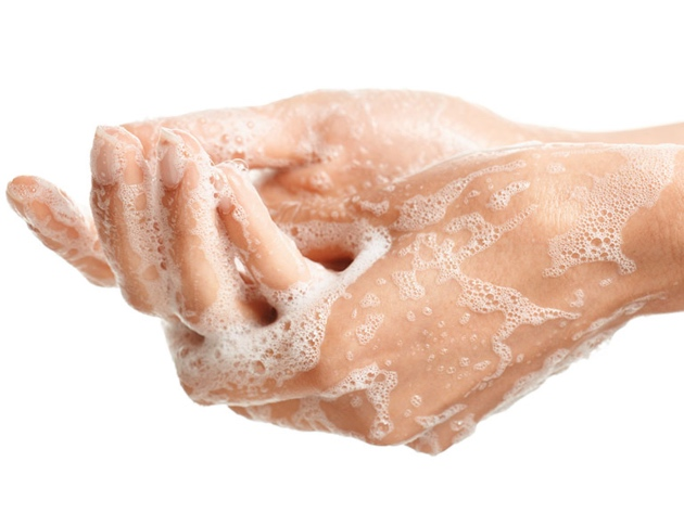 Wash your hands with sanitiser or soap