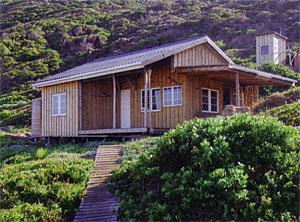 The restored fisherman's shack