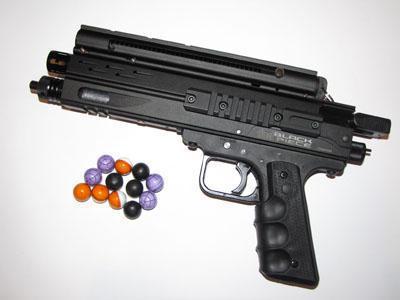Duel Piece Black Pepper gun #8DD2E0