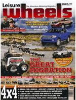 Leisure Wheels Magazine Cover December