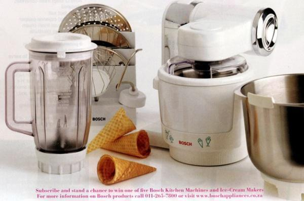 Мороженица Bosch MUZ4EB1 (насадка для комбайна)