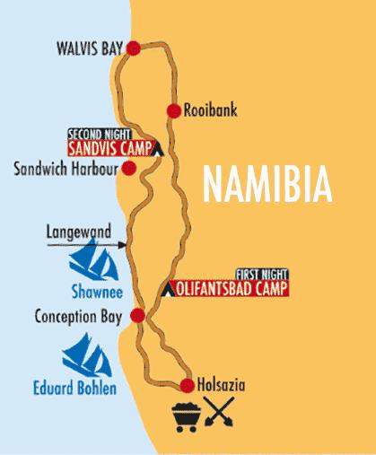 Sand Paradise Namib Desert