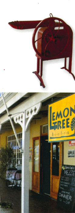 The cottagey Lemon Tree Bistro serves juicy steaks, mouth-watering apple crumble and other tasty treats.
