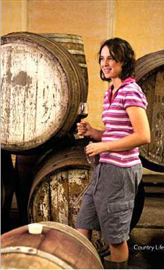 Five generations of family tradition – wine maker Margaux Nel in the cellars of Boplaas.