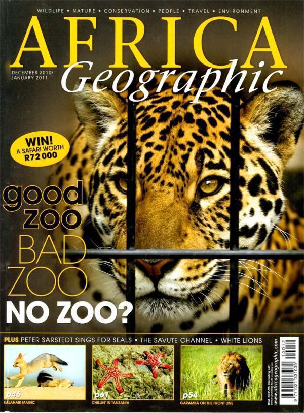 December 2010 Africa Geographic
