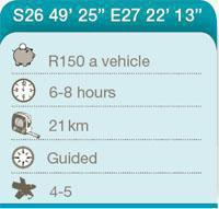North West Moegatle 4x4 Trail