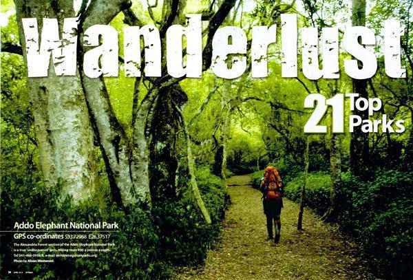 Wanderlust - Getaway's top 21 Parks