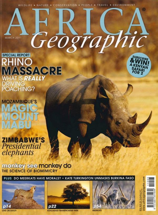 March 2011 Africa Geographic