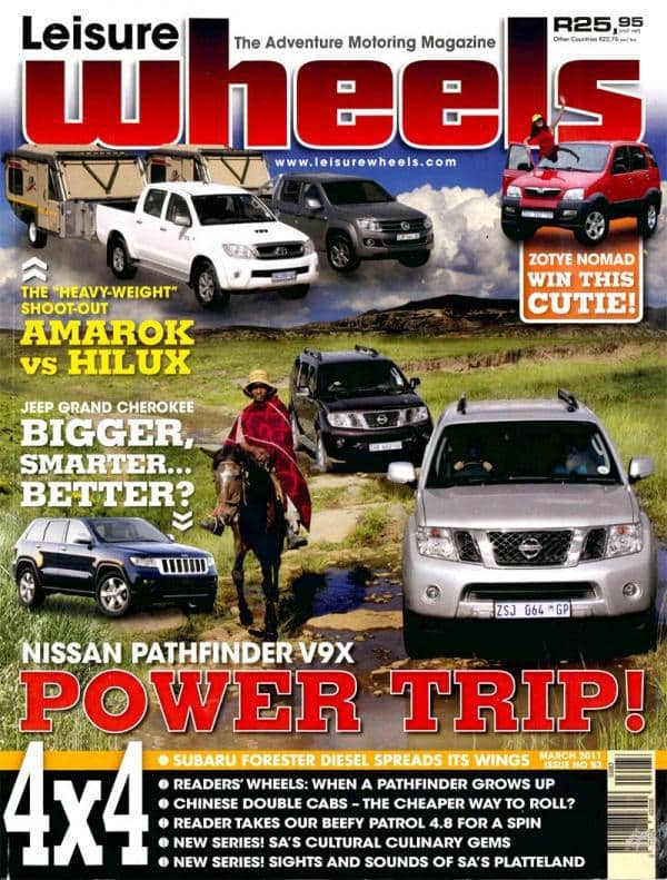 Leisure Wheels March 2011