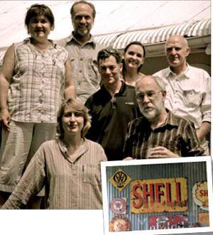 Treasure the Karoo action Group (TKAG): Prof Doreen Atkinson, Derek Carstens, TKAG national co-ordinator Jonathan deal and his wife Sharon, Derek light, Julienne du Toit and Mark Ingle.