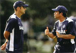 Kirsten's bond with Tendulkar has been crucial in setting the tone for how some of the other players in the team perceive the coach.