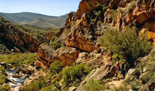 The Heritage hikes take you through distinctive Cederberg landscapes