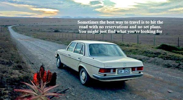 Sometimes the best way to travel is to hit the road with no reservations and no set plans. You might just find what you're looking for