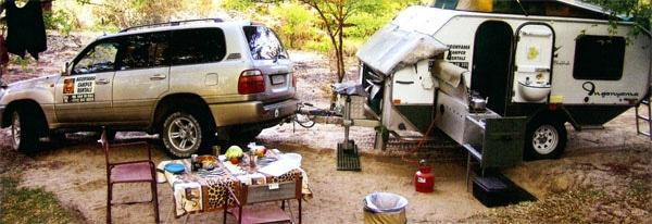 An off-road caravan is arguably the best form of camping accommodation. Sure, it's slightly bigger than an off-road trailer, which makes it a bit tougher to tow in the bundu, but the size difference isn't that substantial, and moreover, the comfort can't be equalled.