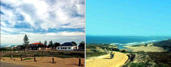 Clean air, clean town – Gouritsmond. * The short detour to Puntjie is well worth the view.