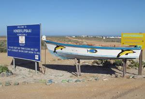 The fishing village of Hondeklip Bay on the Namaqualand Coast