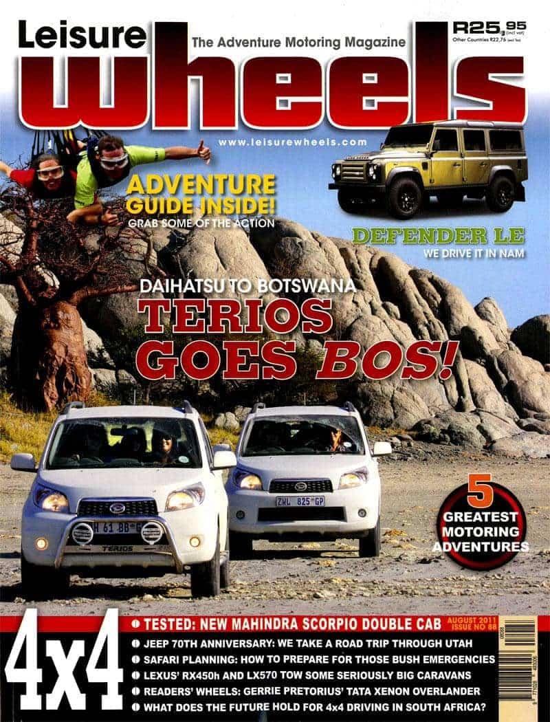 Leisure Wheels Tmb August 2011