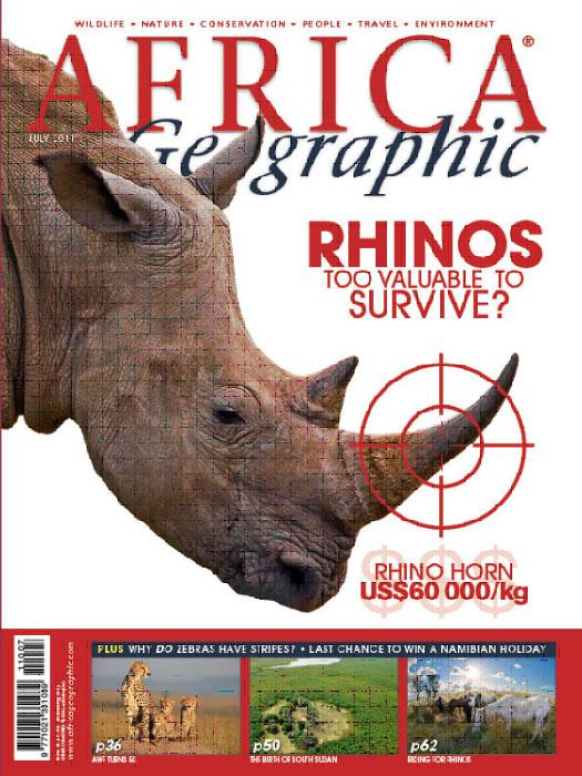 Africa Geographic Rhino Petition
