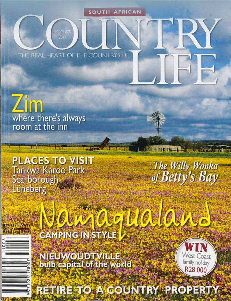 Country life August 2011