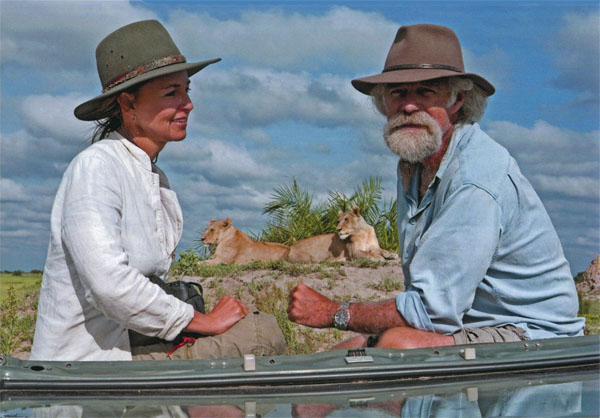 Rolprentmakers Dereck en Beverly Joubert