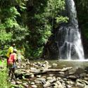 Just one of the beautiful waterfalls along the Uitsoek trail