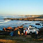 Camping with the shore to yourself at Groen Spoeg, Namaqua National Park