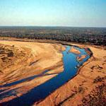 The sweeping Letaba River in the Kruger National Park