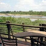 Magnificent view of the Sabie River from Lower Sabie Rest Camp, Kruger National Park