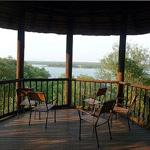 A gorgeous view of the Pioneer Dam from Mopani Rest Camp, Kruger National Park