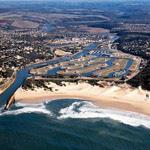 Port Alfred marina in the Eastern Cape