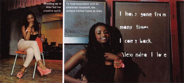 Growing up in Alex fed her creative spirit.